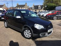 USED 2006 06 VOLKSWAGEN POLO 1.4 DUNE 5d 74 BHP LOW MILEAGE WITH FULL SERVICE HISTORY ( MAIN DEALER STAMPS UPTO 64,573 mls