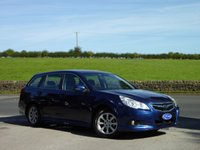 USED 2013 SUBARU LEGACY 2.0 ES NAV 5d 150 BHP ONE OWNER FROM NEW. SOLD AND MAINTAINED BY OURSELVES, GREAT VALUE FOR MONEY SUBARU LEGACY.
