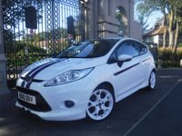 USED 2010 10 FORD FIESTA 1.6 S1600 3d 118 BHP *FINANCE ARRANGED*PART EXCHANGE WELCOME*2KEY*FULL LEATHER*HEATED SEATS*BTOOTH*MFSW*VOICE CONTROL*AC
