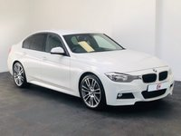 USED 2012 62 BMW 3 SERIES 2.0 320D M SPORT [NAV] 4d AUTO 181 BHP SAT NAV + LEATHER + 19 INCH ALLOYS + CLIMATE + PART EX WELCOME