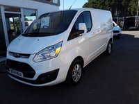 USED 2014 14 FORD TRANSIT CUSTOM 2.2 270 LIMITED 125 BHP