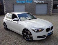 2013 BMW 1 SERIES 2.0 120D SPORT 5d AUTO 181 BHP £9150.00