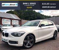 USED 2014 14 BMW 1 SERIES 2.0 118D SPORT 3d 141 BHP