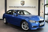 """USED 2013 62 BMW 3 SERIES 2.0 328I M SPORT 4DR 242 BHP full service history Finished in a stunning estoril metallic blue styled with 18"""" alloys. Upon opening the drivers door you are presented with full leather interior, full service history, bluetooth, xenon lights, cruise control, light package,  Automatic air conditioning,  Sports seats,  Rain sensors,  Headlight cleaning system, parking sensors"""