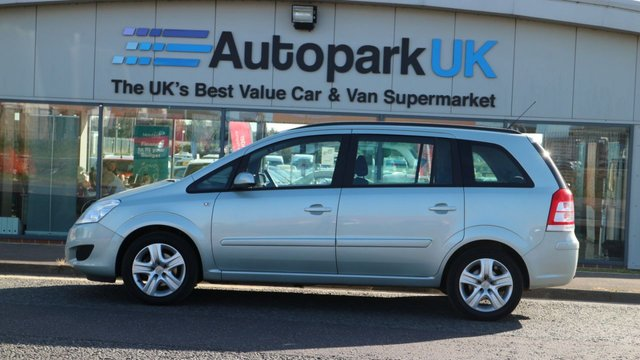 USED 2009 09 VAUXHALL ZAFIRA 1.6 EXCLUSIV 5d 105 BHP LOW DEPOSIT OR NO DEPOSIT FINANCE AVAILABLE