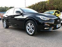 2016 INFINITI Q30 1.5 D PREMIUM TECH 5d WITH LEATHER AND PAN ROOF  £10500.00