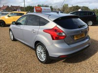 USED 2013 13 FORD FOCUS 1.0 ZETEC 5d 124 BHP FULL MAIN DEALER SERVICE HISTORY - FINANCE AVAILABLE