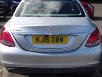 USED 2016 16 MERCEDES-BENZ C CLASS 2.0 C200 SE 4d 184 BHP LOW MILEAGE HIGH SPECIFCATION EXAMPLE WITH NAVIGATION