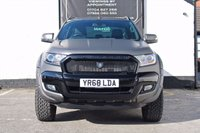 USED 2018 68 FORD RANGER 3.2 WILDTRAK 4X4 DCB TDCI 4d 197 BHP - DERANGED