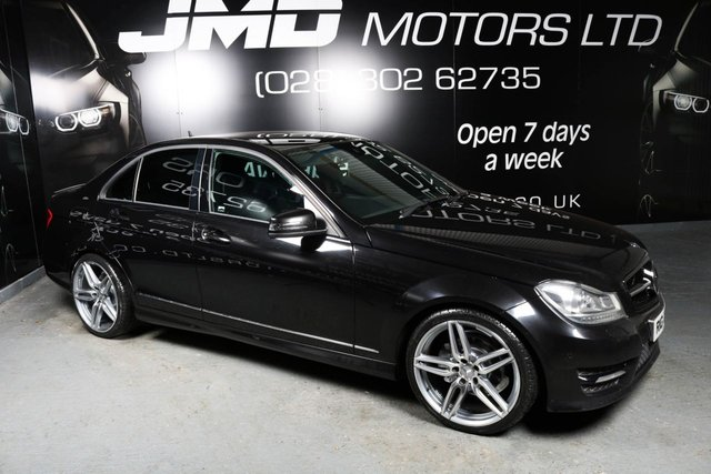 2013 MERCEDES-BENZ C 250 C250 CDI B.E. AMG SPORT PLUS NIGHT EDITION STYLE AUTO (FINANCE AND WARRANTY)