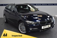 USED 2015 15 BMW 3 SERIES 2.0 320D LUXURY TOURING 5d 180 BHP (ONE OWNER  - SAT NAV)