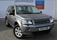 USED 2013 62 LAND ROVER FREELANDER 2.2 TD4 GS 5d 150 BHP GOOD LAND ROVER  SERVICE HISTORY