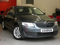 USED 2016 16 SKODA OCTAVIA 1.2 TSI S 5d 110 S/S 1 OWNER FROM NEW, SERVICE HISTORY, £30 ROAD TAX (114 G/KM), MANUAL 6 SPEED, START STOP TECHNOLOGY, 16 INCH 10 SPOKE ALLOYS, GREY CLOTH INTERIOR, LEATHER STEERING WHEEL, TRIP COMPUTER, AIR CONDITIONING, AUX & USB INPUTS, DAB RADIO, BLUETOOTH PHONE & MUSIC STREAMING, SD CARD READER, SMART LINK READY (ACTIVATION REQUIRED), ELECTRIC WINDOWS, ELECTRIC HEATED DOOR MIRRORS, ISO FIX, FOLDING REAR SEATS, VAT QUALIFYING