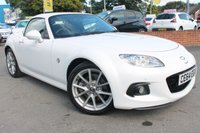 USED 2014 64 MAZDA MX-5 2.0 I ROADSTER SPORT TECH 2d 158 BHP 5 SERVICE STAMPS - JUST 2 FORMER KEEPERS - EXCELLENT EXAMPLE