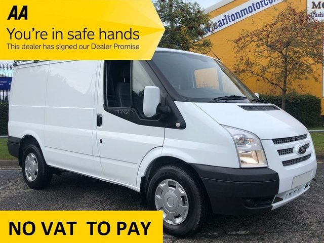 2012 62 FORD TRANSIT T330 TDCi 125 SWB LOW ROOF VAN