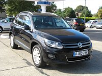 2014 VOLKSWAGEN TIGUAN 2.0 MATCH TDI BLUEMOTION TECHNOLOGY 4MOTION 5d 139 BHP £8995.00