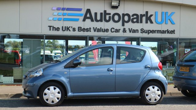USED 2008 08 TOYOTA AYGO 1.0 BLUE VVT-I 5d 68 BHP GREAT VALUE AT OUR LOW PRICE  *