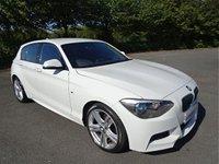 2015 BMW 1 SERIES 2.0 116D M SPORT 5d 114 BHP £10990.00