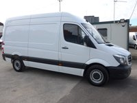2017 MERCEDES-BENZ SPRINTER 314CDI MWB, 140 BHP [EURO 6], LOW MILES