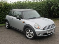 USED 2007 07 MINI HATCH COOPER 1.6 COOPER 3d *  FRONT AND REAR SUNROOF * ECONOMICAL * 6 SPEED GEARBOX *