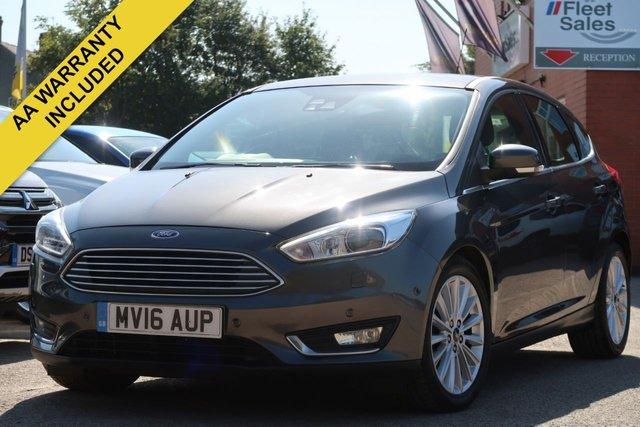 USED 2016 16 FORD FOCUS 2.0 TITANIUM X TDCI 5d 148 BHP EURO 6 REVERSING CAMERA, HEATED SEATS + FINANCE AVAILABLE