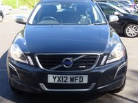 USED 2012 12 VOLVO XC60 2.4 D3 R-DESIGN AWD 5d AUTO 161 BHP NAVIGATION LOW MILEAGE HIGH SPECIFCATION EXAMPLE WITH FSH