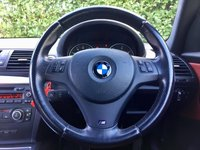 USED 2011 11 BMW 1 SERIES 2.0 120D M SPORT 2d 175 BHP ONE FORMER KEEPER, RED LEATHER, HEATED SEATS, BLUETOOTH, ALLOYS, AIR CONDITIONING, AUTO LIGHTS, START STOP, REAR PARKING SENSORS, 5 SERVICES 4 BMW, SPARE KEY