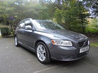 USED 2010 10 VOLVO V50 2.0 D SE LUX 5d 136 BHP FULL SERVICE HISTORY - SUPPLIED WITH 12 MONTHS MOT