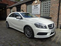 2015 MERCEDES-BENZ A CLASS 1.5 A180 CDI BLUEEFFICIENCY AMG SPORT 5d 109 BHP £12995.00