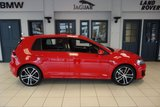 USED 2014 14 VOLKSWAGEN GOLF 2.0 GTD DSG 5d AUTO 182 BHP FINISHED IN STUNNING RED WITH GTD CHEQUERED CLOTH SEATS + SERVICE HISTORY + FRONT & REAR PARKING SENSORS + XENON LIGHTS + LED DAYTIME RUNNING LIGHTS + DUAL ZONE AIR CONDITIONING CLIMATE CONTROL + ADAPTIVE CRUISE CONTROL + CD & MP3 & USB & SD & AUX INPUT + DAB DIGITAL RADIO + MULTIFUNCTIONAL STEERING WHEEL + BLUETOOTH CONNECTIVITY