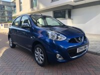 USED 2014 14 NISSAN MICRA 1.2 ACENTA 5d AUTO 79 BHP
