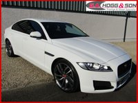 USED 2016 16 JAGUAR XF 2.0d PRESTIGE 4dr AUTO 163 BHP *FULL HEATED BLACK LEATHER, REVERSING CAMERA, PRIVACY GLASS*