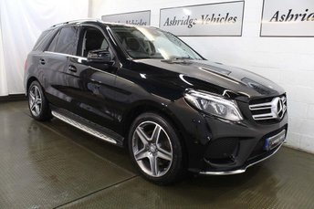 2016 MERCEDES-BENZ GLE-CLASS 3.0 GLE350d V6 AMG Line (Premium) G-Tronic 4MATIC (s/s) 5dr £31995.00
