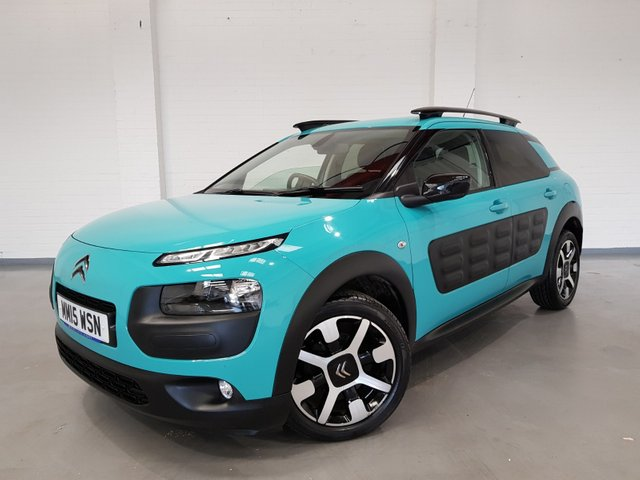 USED 2015 15 CITROEN C4 CACTUS 1.6 BLUEHDI FLAIR 5d 98 BHP