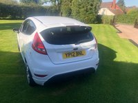 USED 2012 12 FORD FIESTA 1.6 ZETEC S 3d 118 BHP Outstanding condition inside and out . Not to be missed !!