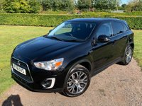 USED 2016 16 MITSUBISHI ASX 1.6 DI-D ZC-M 5d 112 BHP Full Mitsubishi History, MINT Unmarked Example  Full Mitsubishi Main Dealer Service History, MOT 09/20, Recent Mitsubishi Service, Keyless Entry And Start, Parking Sensors, Cruise Control, Bluetooth, Power Folding Mirrors On Central Locking, DAB/Cd/Stereo/Aux In/Usb, Heated Seats, X4 Unmarked 18In Alloys, X4 Recently Replaced Yokohama Tyres, X2 Keys, Full Set Of Carpet Mats, Auto Lights On, Auto Wipers, Dimming Mirror, Climate Aircon, X4 Elec Windows, Bought Directly From Mitsubishi As One Of They're Part Exchanges, Extremely Straight + Clean