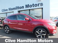 USED 2018 18 NISSAN QASHQAI 1.5 DCI TEKNA 5d 108 BHP GLASS ROOF PACK GLASS ROOF PACK &  LEATHER