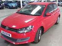 USED 2010 10 VOLKSWAGEN POLO 1.2 SE 3d 60 BHP 64000 miles, 8 service stamps, superb.