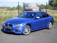 2014 BMW 3 SERIES 330D XDRIVE M SPORT 4d AUTO 255 BHP £12995.00