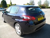 USED 2017 17 PEUGEOT 308 1.6 BLUE HDI S/S ACTIVE 5d 120 BHP Part Ex - Minor Marks, Please ring for details