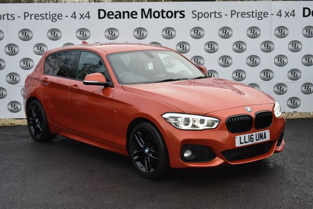 2016 16 BMW 1 SERIES 1.5 116D M SPORT 5d 114 BHP BLACK PACK