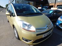 2009 CITROEN C4 GRAND PICASSO 1.6 VTR PLUS HDI 5d 107 BHP £2799.00