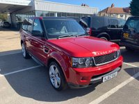 2012 LAND ROVER RANGE ROVER SPORT 3.0 SDV6 HSE RED 5d AUTO 255 BHP £17995.00