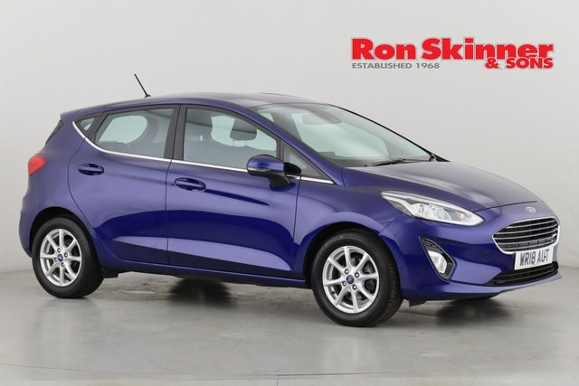 View our 2018 18 FORD FIESTA 1.1 ZETEC 5d 85 BHP
