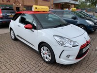 USED 2013 63 CITROEN DS3 1.6 E-HDI DSTYLE RED 3d 90 BHP