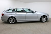 USED 2014 64 BMW 5 SERIES 3.0 530D SE TOURING 5d AUTO 255 BHP FINISHED IN A STUNNING SLIVER + SAT-NAV + BLUETOOTH + DAB-RADIO + AUX/USB + STOP/START  AIR CON + DUAL ZONE CLIMATE CONTROL + MULTI FUNCTION WHEEL + CRUISE CONTROL + AIR CON + ELECTRIC WINDOWS + FRONT AND REAR PARKING SENSORS