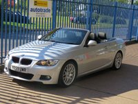 2010 BMW 3 SERIES 2.0 320I M Sport HIGHLINE Convertible Full leather Cruise Heated seats Park senors £8000.00