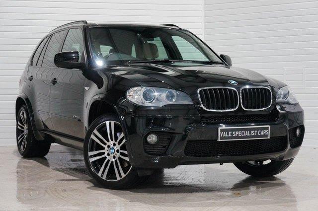 2012 12 BMW X5 3.0 XDRIVE30D M SPORT AUTO (SAT NAV)