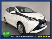 USED 2017 17 TOYOTA AYGO 1.0 VVT-I X-PLAY 5d 69 BHP FULL HISTORY - 1 OWNER - PARKING CAMERA - AIR CON - BLUETOOTH - DAB RADIO - CRUISE CONTROL - AUX / USB