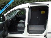 USED 2013 63 VOLKSWAGEN CADDY MAXI 1.6 C20 TDI STARTLINE BLUEMOTION TECHNOLOGY 101 BHP MAXI L2 PANEL VAN +AIR CON+ P/SENSORS+ MEDIA